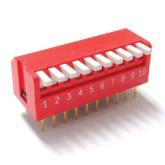 دیپ سوئیچ 10 تایی پیانویی DP-10R