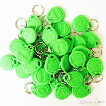 تگ RFID طرح جاسوئیچی 125K - سبز