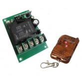 گیرنده و ریموت 1 کانال - 12 و 24 ولت - 30 آمپری (به همراه جعبه)