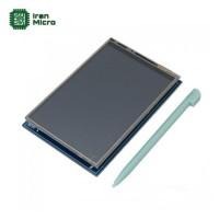 شیلد نمایشگر 3.5 اینچ همراه با تاچ و قلم (مناسب برای بردهای آردوینو)