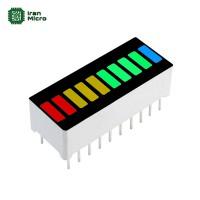 LED بارگراف 10 بیتی - 4 رنگ