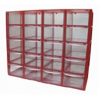 جعبه قطعات 20 کشو (5 طبقه * 4 کشو) - قرمز