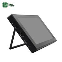 ال سی دی لمسی 7 اینچ رزبری پای ساخت ویو شیر - رزولوشن 1024*600 - HDMI LCD WAVESHARE (همراه با کیس پلاستیکی)