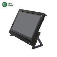 پایه و قاب نگهدارنده تاچ و ال سی دی های 7 اینچی مناسب برای رزبری پای - 7Inch Touch Screen Bracket
