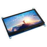 ال سی دی لمسی 7 اینچ رزبری پای ساخت ویو شیر - رزولوشن 1024*600 - HDMI LCD WAVESHARE (سری H)
