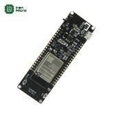 ماژول و بورد توسعه وای فای ESP32 به همراه جاباتری 18650 - TTGO T-Energy ESP32 WiFi & Bluetooth Module