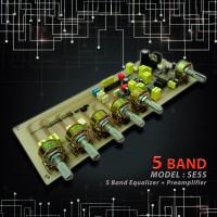 اکولایزر 5 باند استریو - مدل SE5S