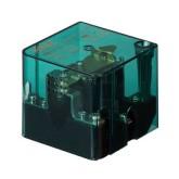 رله 100 آمپر شیشه ای 12 ولت - تک کنتاکت HHC-71F-1Z-12VDC-100A