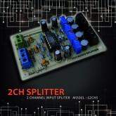 اسپلیتر 1 به 2 ورودی صوتی AUDIO SPLITTER استریو - S2CHS