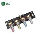 بورد پری آمپلی فایر و تون کنترل 4 پارامتری استریو