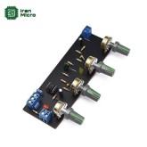 پری آمپلی فایر و تون کنترل 4 پارامتری مونو