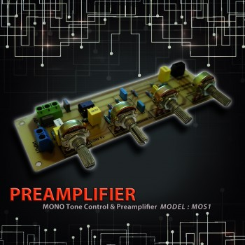 پری تون کنترل مونو - مدل SPAM45