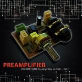 پری آمپلی فایر میکروفن با ورودی لاین - مدل SPM1