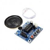 ماژول ضبط و پخش صوت ISD1820 + بلندگو