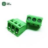 ترمینال 3 پایه سبز KF128 - DG128