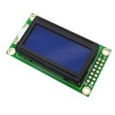 LCD کاراکتری 8*2 بک لایت آبی