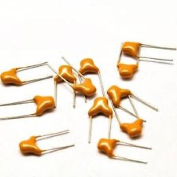 خازن مولتی لایر 220 نانو فاراد - بسته 10 تایی