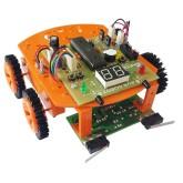 روبات مسیر یاب با میکروکنترلر ATMEGA32 - مدل NAR125