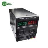 منبع تغذیه 1 کانال - 0 تا 60 ولت - 5 آمپر - سوئیچینگ - مارک HUABAI PS-605