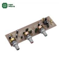 ماژول پری آمپلی فایر و تون کنترل 3 پارامتری استریو (کد 402)