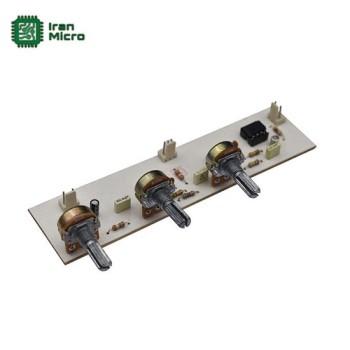 ماژول پری آمپلی فایر و تون کنترل 3 پارامتری مونو (کد 405)