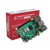 رزبری پای 4 - Raspberry Pi 4 B UK (اورجینال - ساخت انگلستان) - با رم 1 گیگ