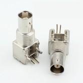 کانکتور BNC رایت (RG59) - فلزی - مادگی