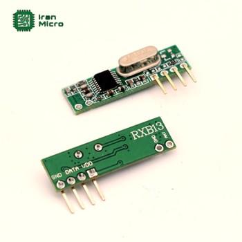 ماژول گیرنده 4 کانال لرن کد RXB13 - فرکانس 315 مگاهرتز