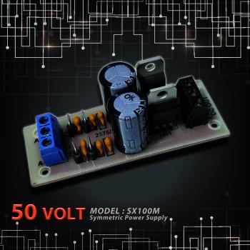 بورد منبع تغذیه دوبل 12 ولت رگوله شده - مدل PS2X12