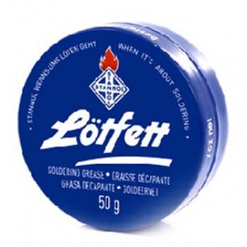 روغن لحیم 50 گرمی استانول STANNOL - آلمانی (درب آبی)