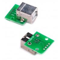 بورد تبدیل کانکتور USB B (پرینتری) به دیپ DIP