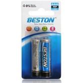 باتری نیم قلمی BESTON معمولی - بسته 2 تایی