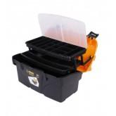 جعبه ابزار پلاستیکی 18 اینچی طبقه دار - مدل BLO-18