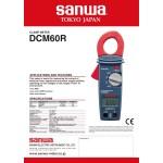 کلمپ متر دیجیتال SANWA سانوا تایوانی - 600 آمپری AC - مدل DCM60R
