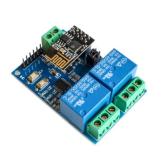 ماژول رله 5 ولت دو کاناله با قابلیت کنترل وای فای (با هسته ESP8266)