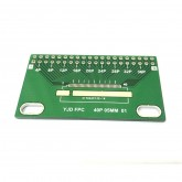 بورد تبدیل کانکتور FPC (فاصله پایه 0.5) - 40 پایه به دیپ DIP