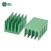 هیتسینک مخصوص تراشه های SMD - سایز 20*14 میل - سبز