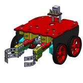 روبات آموزشی خدمتکار با جوی استیک (ساخت اسپروز)