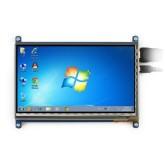 ال سی دی 7 اینچی لمسی با ورودی HDMI - کیفیت تصویر 1024*600