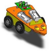 روبات آموزشی موشواره حساس به صدا (ساخت اسپروز)