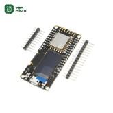 بورد توسعه NodeMCU با نمایشگر OLED و هسته وای فای ESP8266-12F و مبدل CP2102