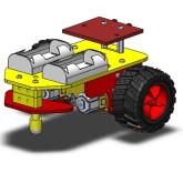 روبات آموزشی نور گریز (ساخت اسپروز)