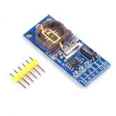 ماژول ساعت - تقویم PCF8563T - RTC با باتری