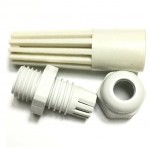 کاور پلاستیکی سنسور دما و رطوبت - استوانه ای 7 سانت