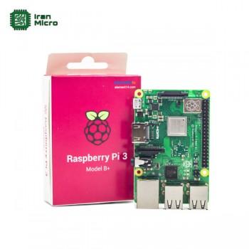 رزبری پای 3 - Raspberry Pi 3 B+ UK (اورجینال element14 - ساخت انگلستان) - مدل +B