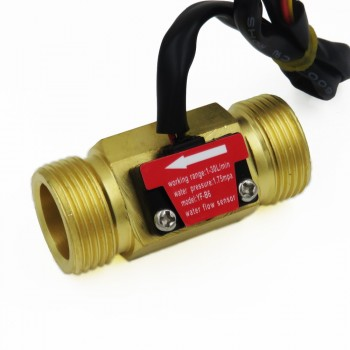 سنسور جریان آب فلزی YF-B6 ـ(Lquid Flow Sensor )