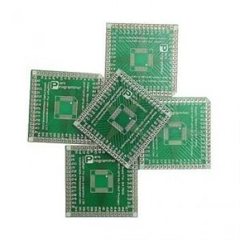 بورد تبدیل SMD به DIP ـ 64 پایه مربعی - LQFP