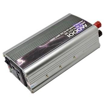 اینورتر (مبدل 12VDC به 220VAC) ورودی 1000 وات