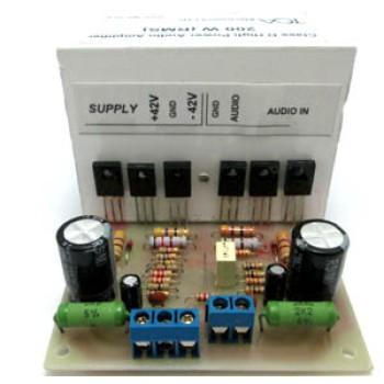 آمپلی فایر مونتاژ شده 200 وات - کلاس D