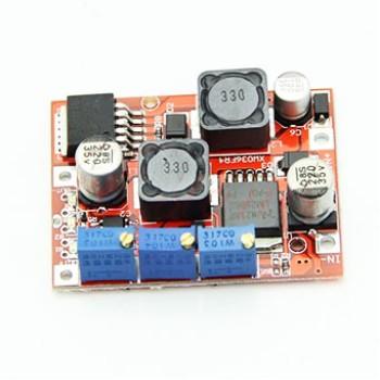 ماژول تغذیه LM2596 + LM2577 (با کنترل جریان)